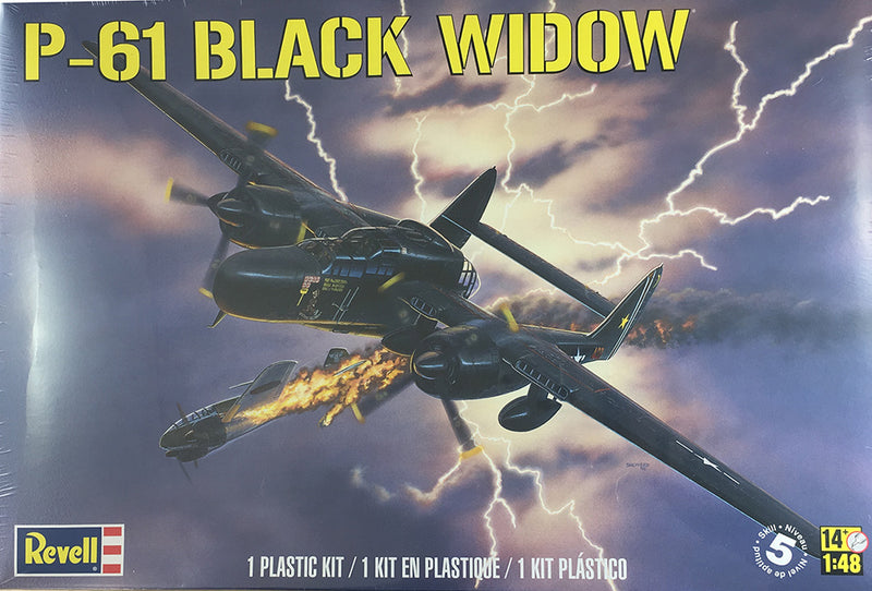 Revell P-61 Black Widow 1/48 Scale Model Kit Box