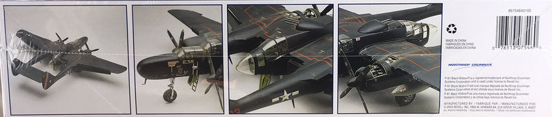 Revell P-61 Black Widow 1/48 Scale Model Kit Box Side