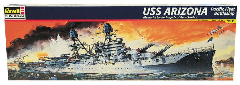 USS Arizona Battleship BB-39 1:426 Scale Model Kit By Revell
