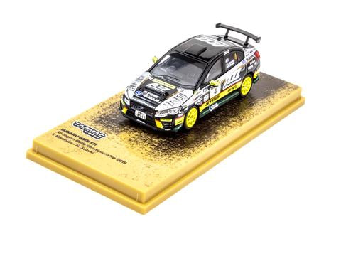 Subaru WRX STI All Japan Rally Champion 2019, 1:64 Scale Diecast Car On Display Stand
