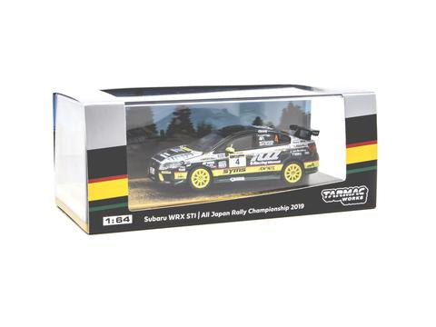 Subaru WRX STI All Japan Rally Champion 2019, 1:64 Scale Diecast Car Packaging