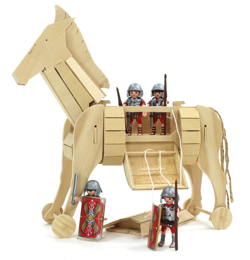 Trojan Horse Wooden Kit By Pathfinders Design