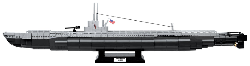 USS Wahoo Submarine SS-238, 700 Piece Block Kit By Cobi Side View