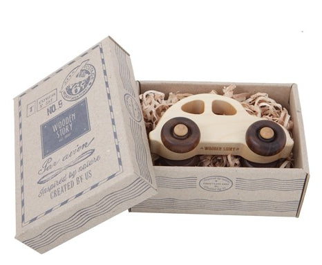 Wooden Story '30's Car In Box