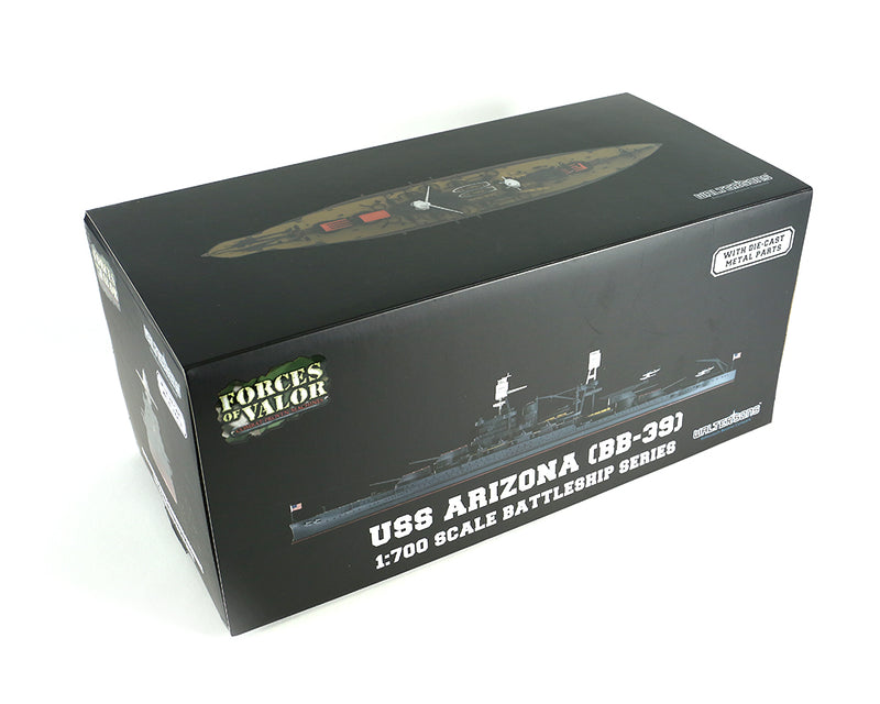 USS Arizona BB-39 1/700 Scale Model By Forces of Valor Box