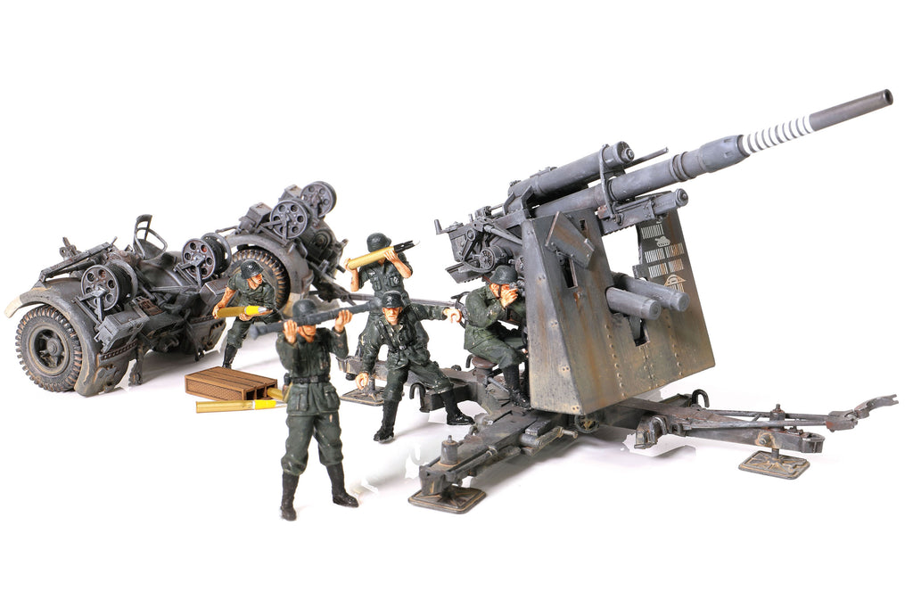 Krupp Flak 36 8.8 cm Anti-Aircraft Gun German Army Stalingrad 1943, 1:32 Scale Model By Forces Of Valor
