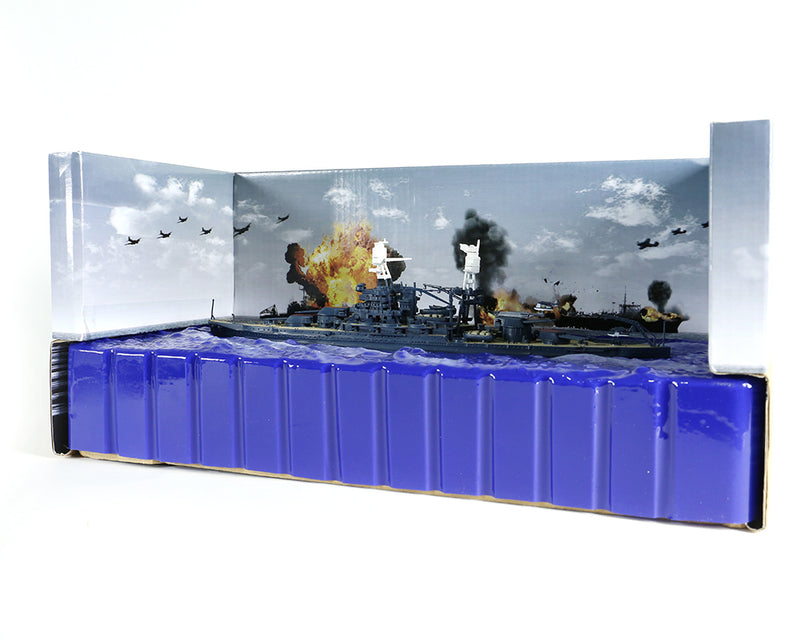 USS Arizona BB-39 1/700 Scale Model By Forces of Valor Ocean Diorama