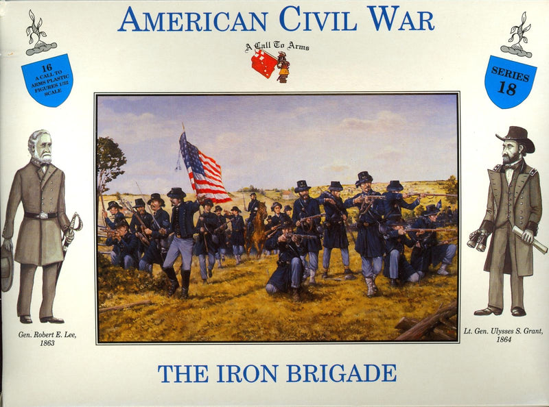American Civil War Union Army Iron Brigade 1/32 (54 mm) Scale Model Plastic Figures By A Call To Arms