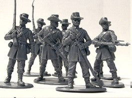 American Civil War Union Army Iron Brigade 1/32 (54 mm) Scale Model Plastic Figures By A Call To Arms Figure Detail