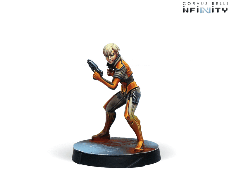 Infinity Agents Of The Human Sphere Characters Set Miniature Game Figures Yu Jing Character