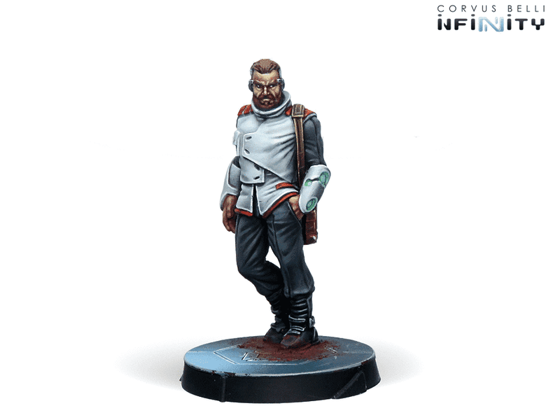 Infinity Agents Of The Human Sphere Characters Set Miniature Game Figures Nomad Character