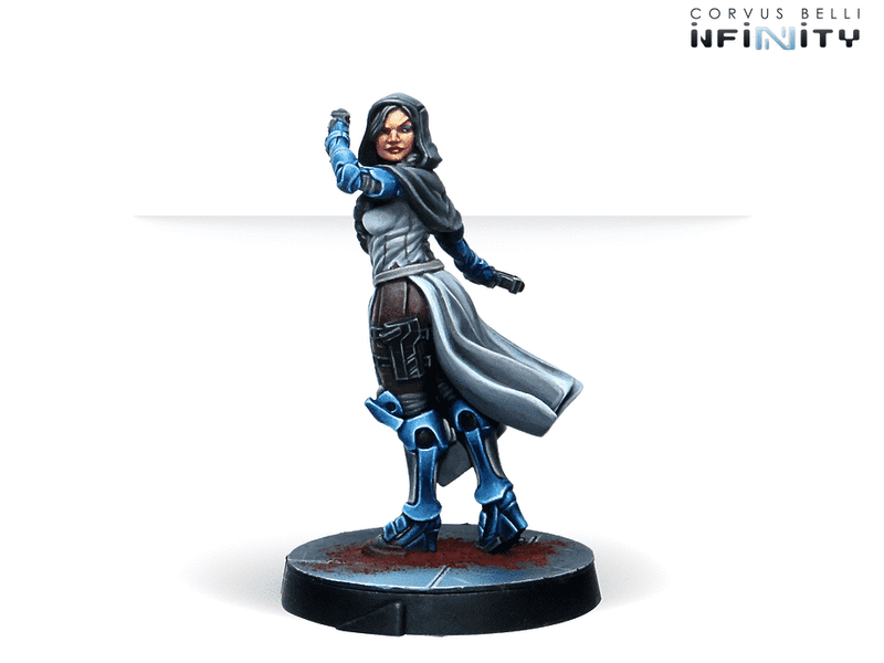 Infinity Agents Of The Human Sphere Characters Set Miniature Game Figures PanOceania Character