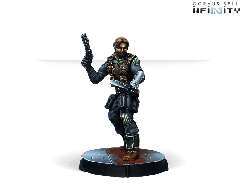 Infinity Agents Of The Human Sphere Characters Set Miniature Game Figures Ariadna Character