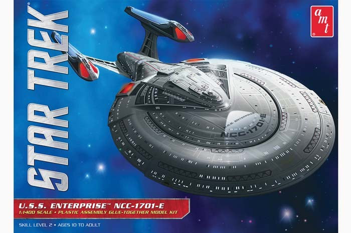 AMT Star Trek USS Enterprise NCC-1701-E 1/1400 Scale Model Kit