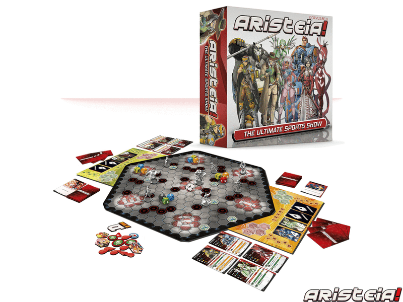 Aristeia! Core Box Miniature Game Set Box Contents