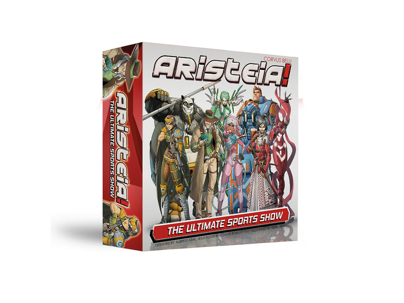 Aristeia! Core Box Miniature Game Set By Corvus Belli
