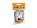 Infinity ALEPH Asuras (Hacker) Miniature Game Figure Blister Packaging