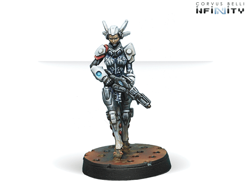 Infinity Nomads Bakunin Jurisdictional Command (Nomads Sectorial Starter Pack) Miniature Game Figures