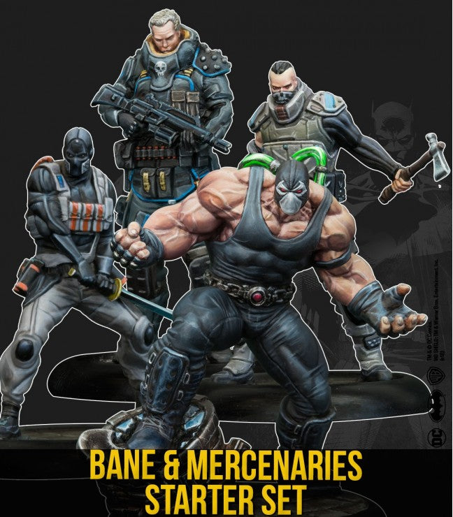 Batman Miniature Game, Bane & Mercenaries Starter Set