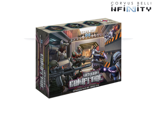 Beyond Coldfront Infinity Miniature Game Figure Set By Corvus Belli
