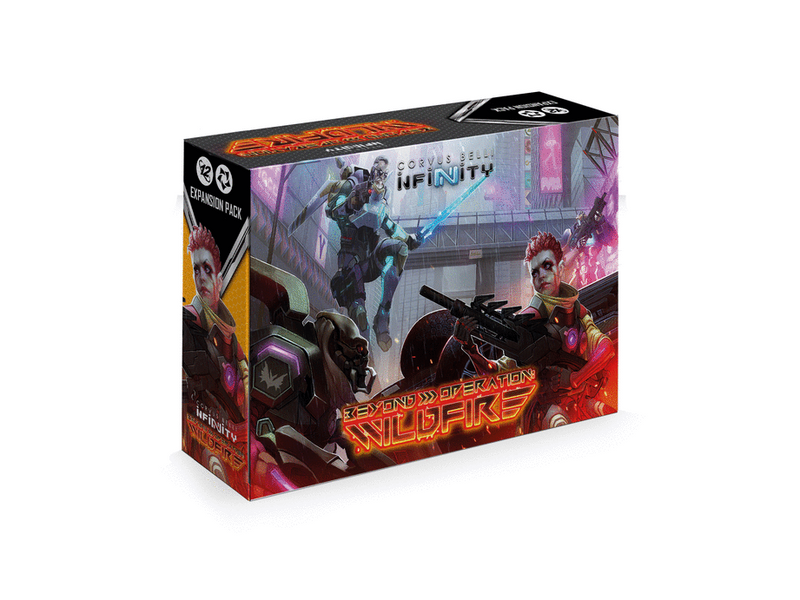 Infinity Beyond Wildfire Expansion Pack By Corvus Belli