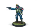 Infinity Ariadna Chasseurs (Rifle, Light Flamethrower) Miniature Game Figure By Corvus Belli