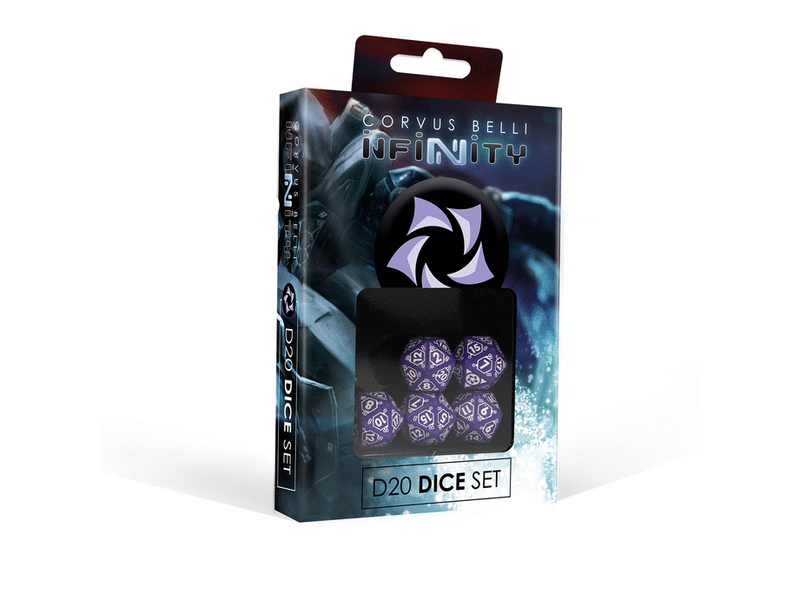 Infinity Combined Army D20 Dice Set By Corvus Belli