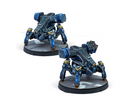Infinity CodeOne O-12 Copperbots Remotes Pack Miniature Game Figures By Corvus Belli