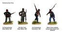 American Civil War Union Infantry 1861-1865 (28 mm) Scale Model Plastic Figures Different Units Example