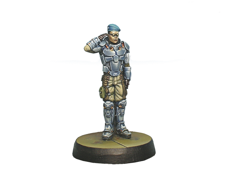 Infinity Dire Foes Mission Pack 1: Train Rescue Fusler Angus