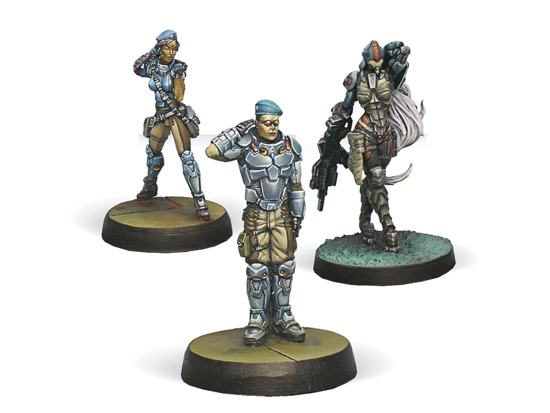 Infinity Dire Foes Mission Pack 1: Train Rescue By Corvus Belli
