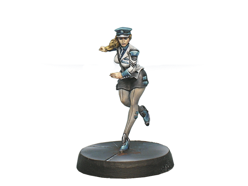 Infinity Dire Foes Mission Pack 2: Fleeting Alliance Naval Engineering Officer