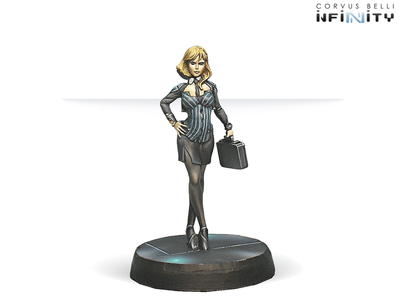 Infinity Dire Foes Mission Pack 4: Flee Or Die VIP Executive