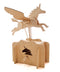 Flying Unicorn Automata Wooden Kit