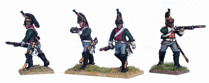 Napoleonic French Dragoons 1812 -1815, 28 mm Scale Model Plastic Figures Unmounted Figures