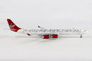 Airbus A340-600 Virgin Atlantic (G-VNAP) 1:400 Scale Model By Gemini Jets Right Side View