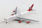 Boeing 747-400 Virgin Atlantic Airlines (G-VBIG) 1:400 Scale Model By Gemini Jets Left Front View