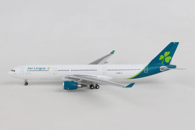 Airbus A330-300 Aer Lingus Airlines (EI-EDY) 1:400 Scale Model Left Side View