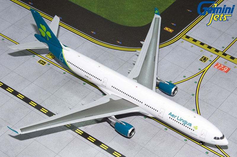Airbus A330-300 Aer Lingus Airlines (EI-EDY) 1:400 Scale Model By Gemini Jets