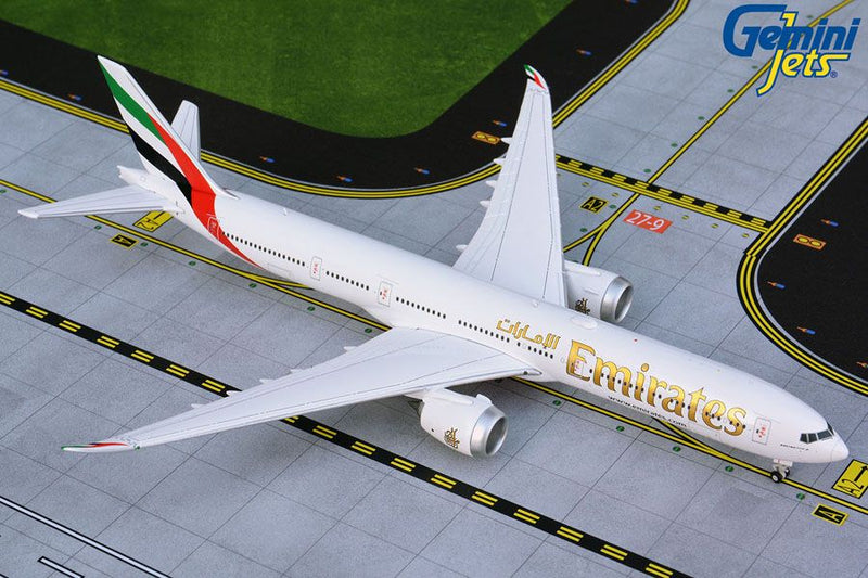 Boeing 777-9 Emirates 1:400 Scale Model By Gemini Jets