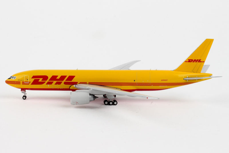 Boeing 777F DHL (N705GT) 1:400 Scale Model Left Side View