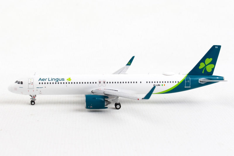Airbus A321neo Aer Lingus Airlines (EI-LRA) 1:400 Scale Model Left Side View