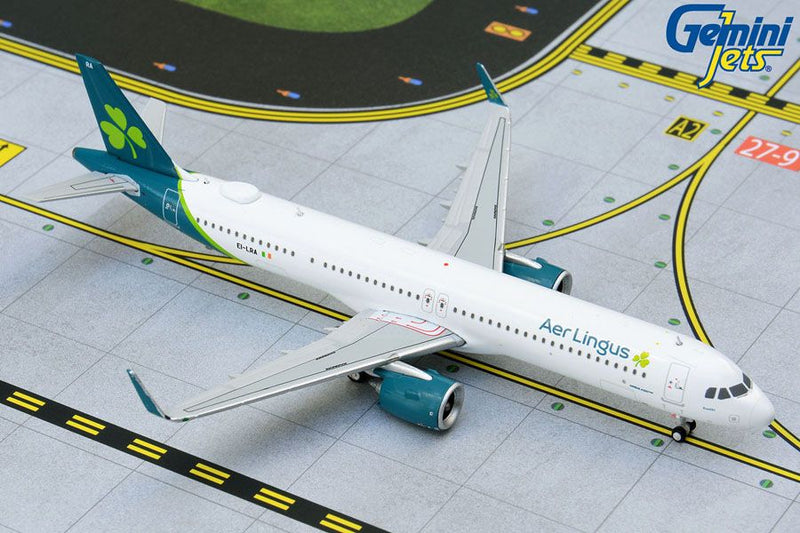 Airbus A321neo Aer Lingus Airlines (EI-LRA) 1:400 Scale Model By Gemini Jets