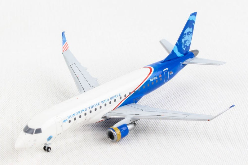 Embraer ERJ-175 Alaska Airlines / Horizon Air (N651QX) 1:400 Scale Model