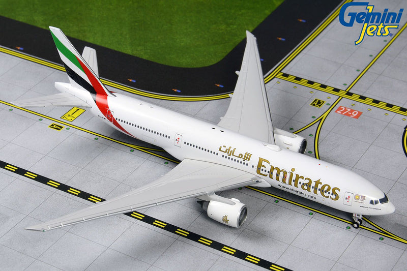 Boeing 777-200LR  Emirates (Expo 2020 Livery) 1:400 Scale Model by Gemini Jets