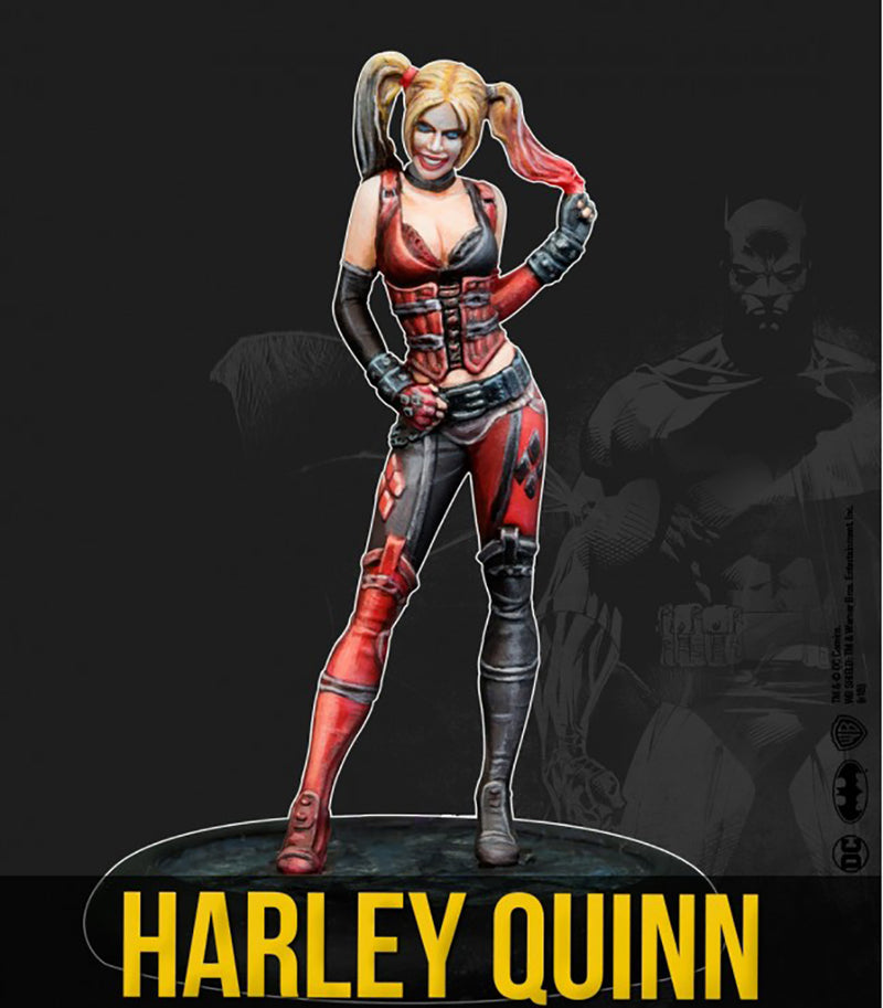 Batman Miniature Game, Gotham City Sirens, Harley Quinn