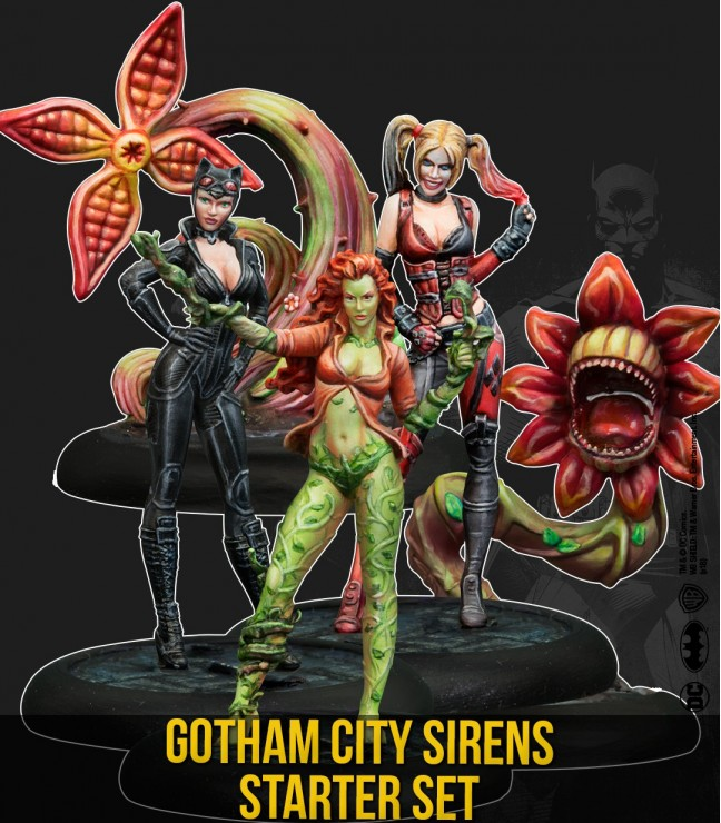 Batman Miniature Game, Gotham City Sirens Starter Set