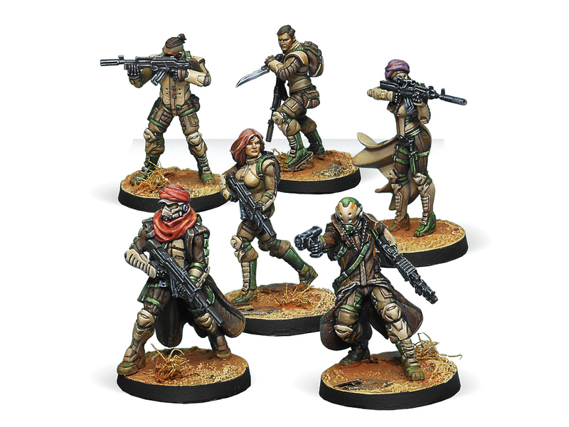 Infinity Haqqislam Starter Pack Miniature Game Figures By Corvus Belli