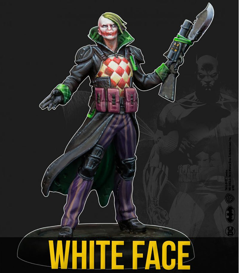 Batman Miniature Game, White Face