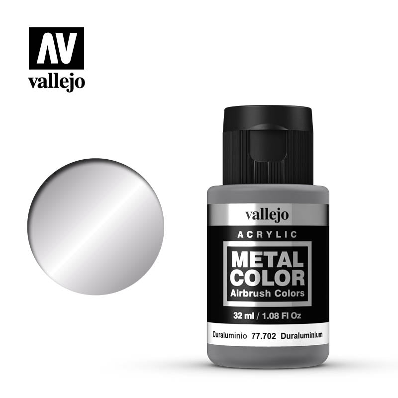 Metal Color Duraluminum Acrylic Paint, 32 ml Bottle